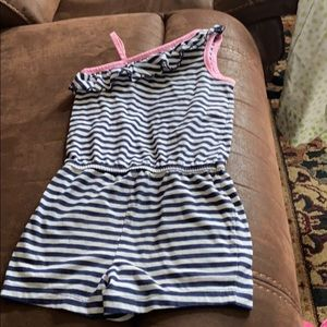 Summer outfit romper for girls